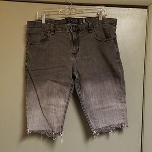 Rude skinny shorts